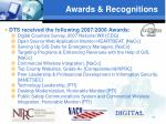 awards recognitions