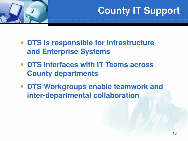 County IT Support