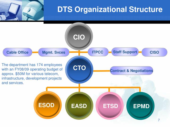 DTS Organizational Structure