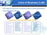 lines of business lob