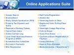 online applications suite