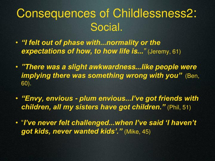 Consequences of Childlessness2
