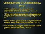 consequences of childlessness2 social