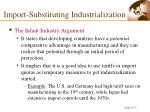 import substituting industrialization1