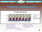 transition assessments