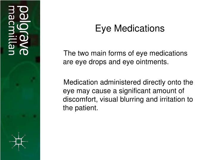 Eye Medications
