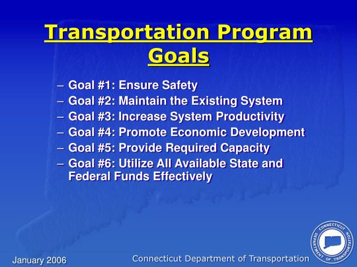 Transportation Program