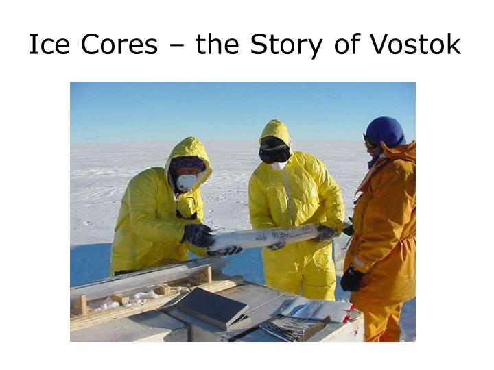 Ice Cores – the Story of Vostok