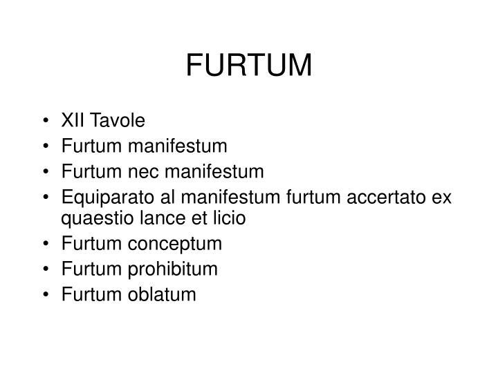FURTUM