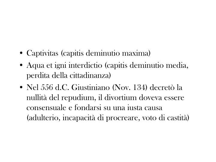Captivitas (capitis deminutio maxima)