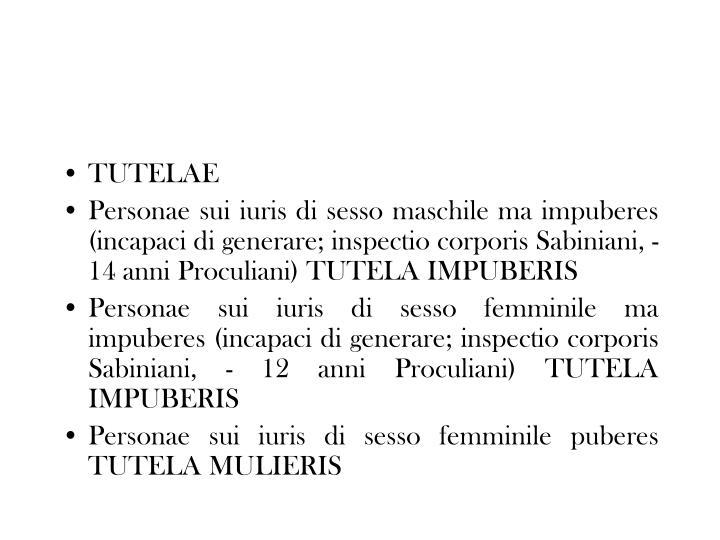 TUTELAE