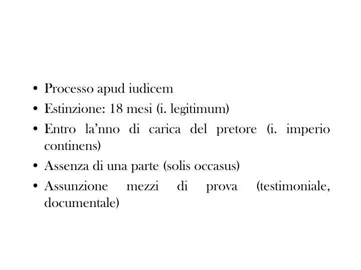 Processo apud iudicem