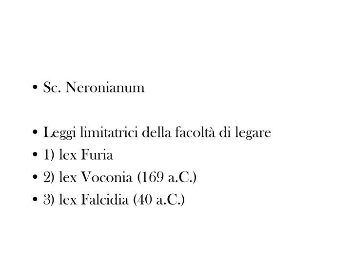 Sc. Neronianum