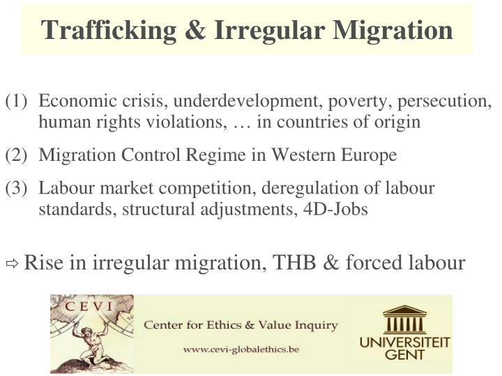 Trafficking & Irregular Migration