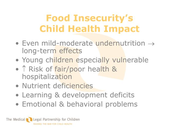 Food Insecurity's