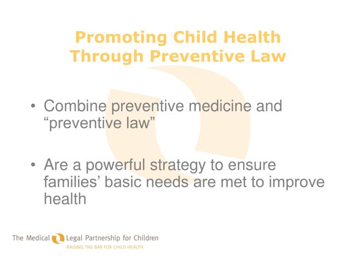 Promoting Child Health