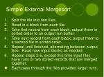simple external mergesort1