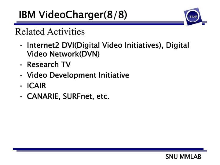 IBM VideoCharger(8/8)