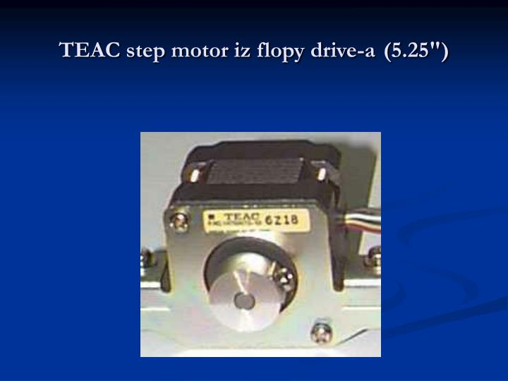 TEAC step motor iz flopy drive