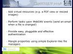 why a webdav proxy