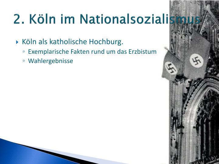 2. Köln im Nationalsozialismus
