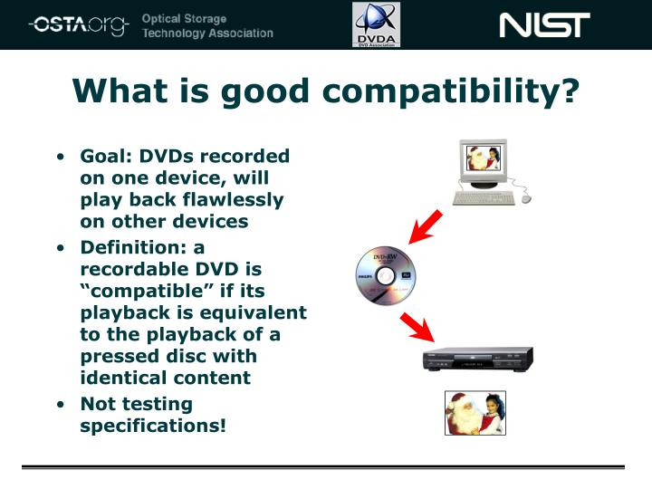 What is good compatibility?