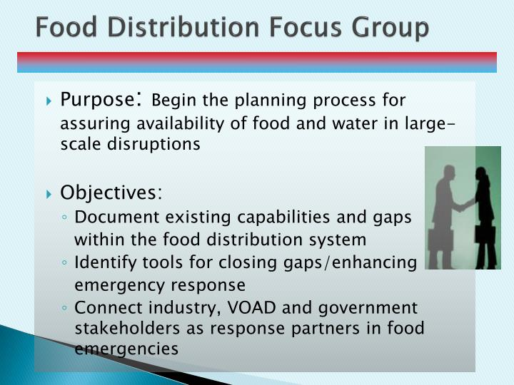 Food Distribution Focus Group
