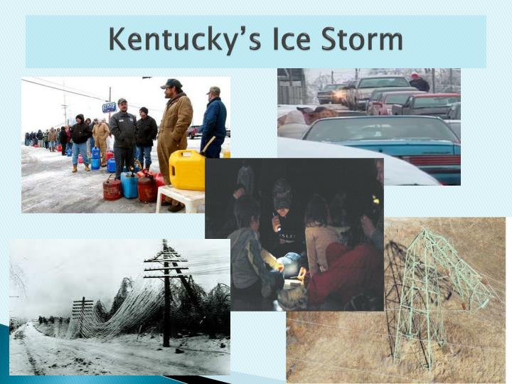 Kentucky's Ice Storm