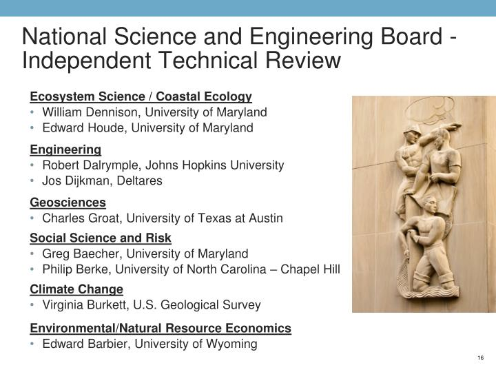 National Science and Engineering Board -Independent Technical Review