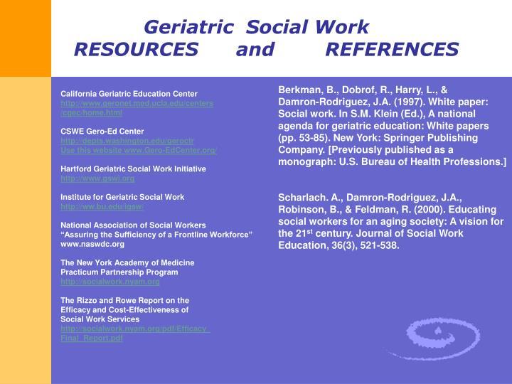 California Geriatric Education Center