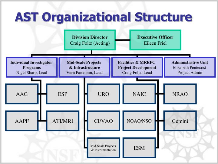 AST Organizational Structure