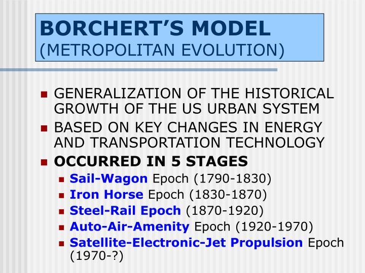 BORCHERT'S MODEL