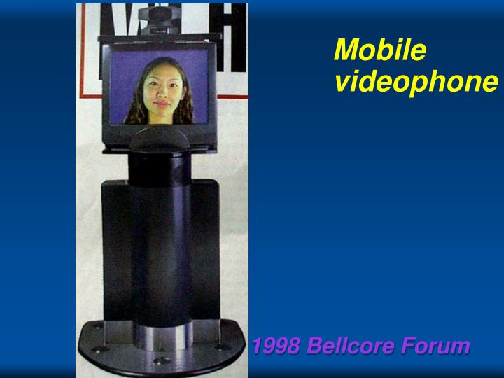 Mobile videophone