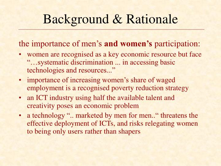 Background & Rationale