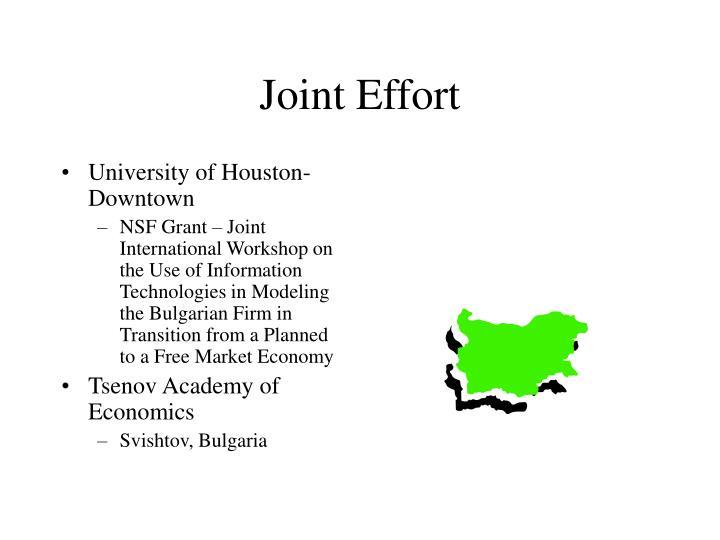 Joint Effort