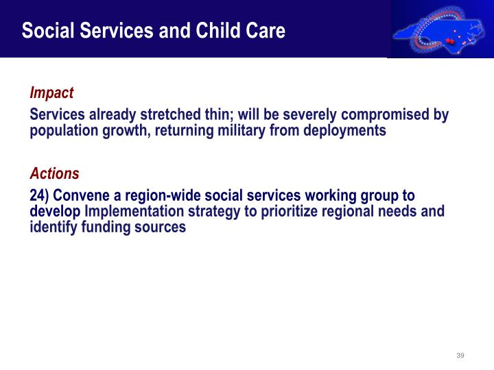 Social Services and Child Care