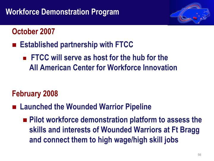 Workforce Demonstration Program