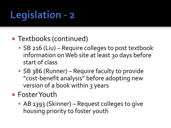 Legislation - 2