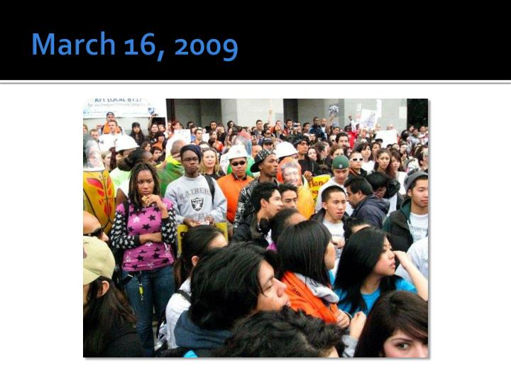 March 16, 2009