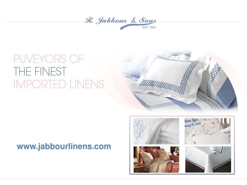 www.jabbourlinens.com
