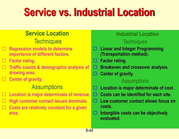 Service Location