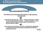 2 what you need to know environmental and social review