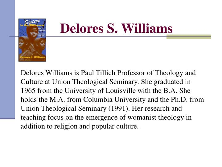 Delores S. Williams