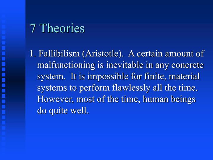 7 Theories