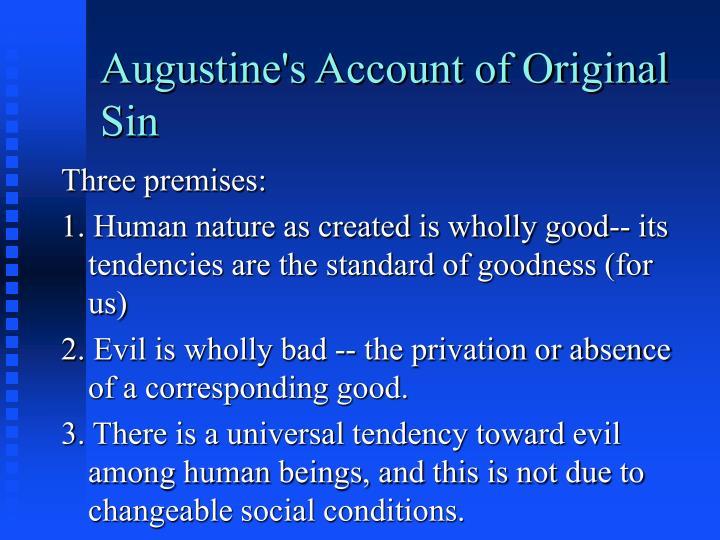 Augustine's Account of Original Sin