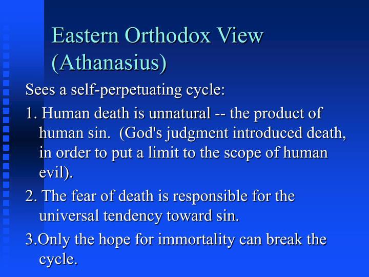 Eastern Orthodox View (Athanasius)