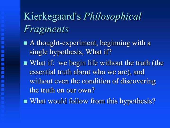 Kierkegaard's