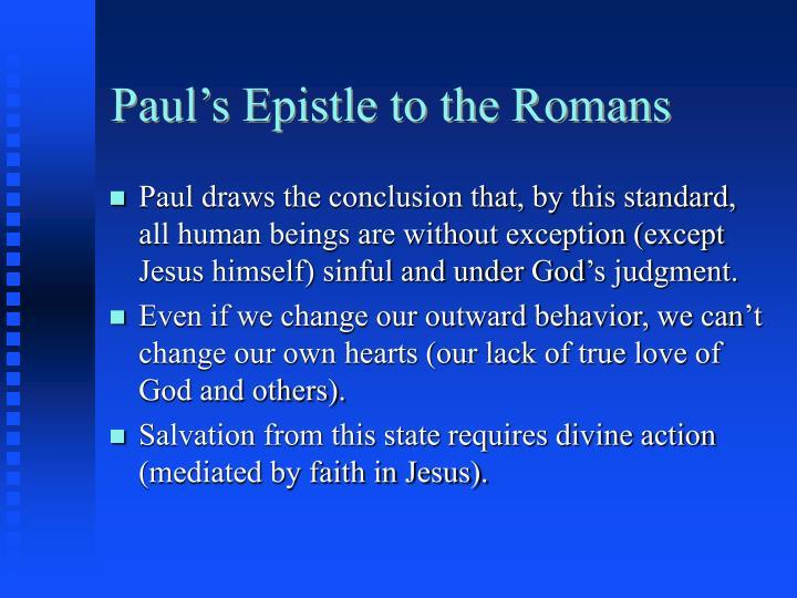 Paul's Epistle to the Romans
