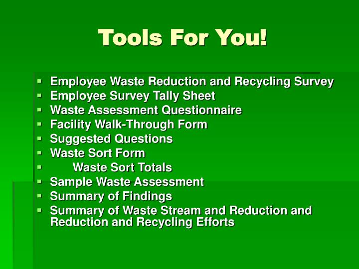 Tools For You!