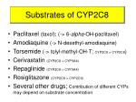 substrates of cyp2c8